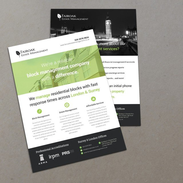 brochure design Woking
