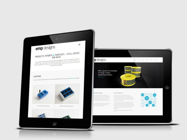 emp designs brochure website design hampshire
