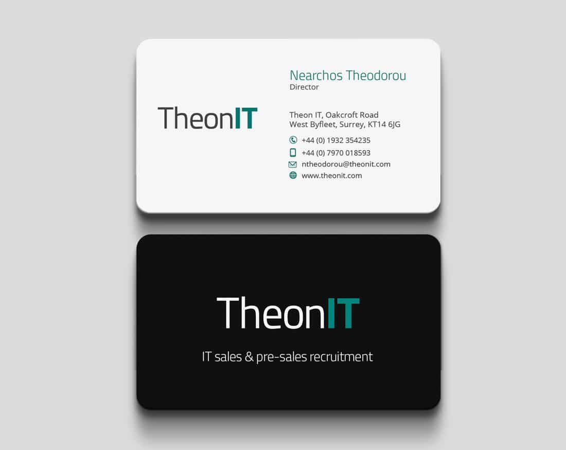 theonit-business-card-design