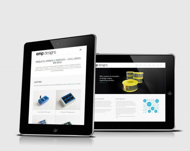 emp designs brochure website design hampshire