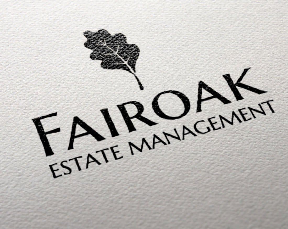 fairoak management brand SEO design