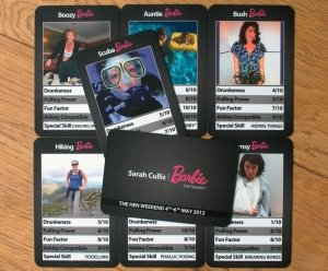 Trump Cards rounded corner business cards