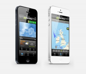 Met office app for iphone