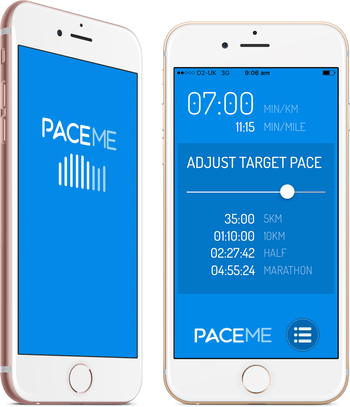 running pace calculator app