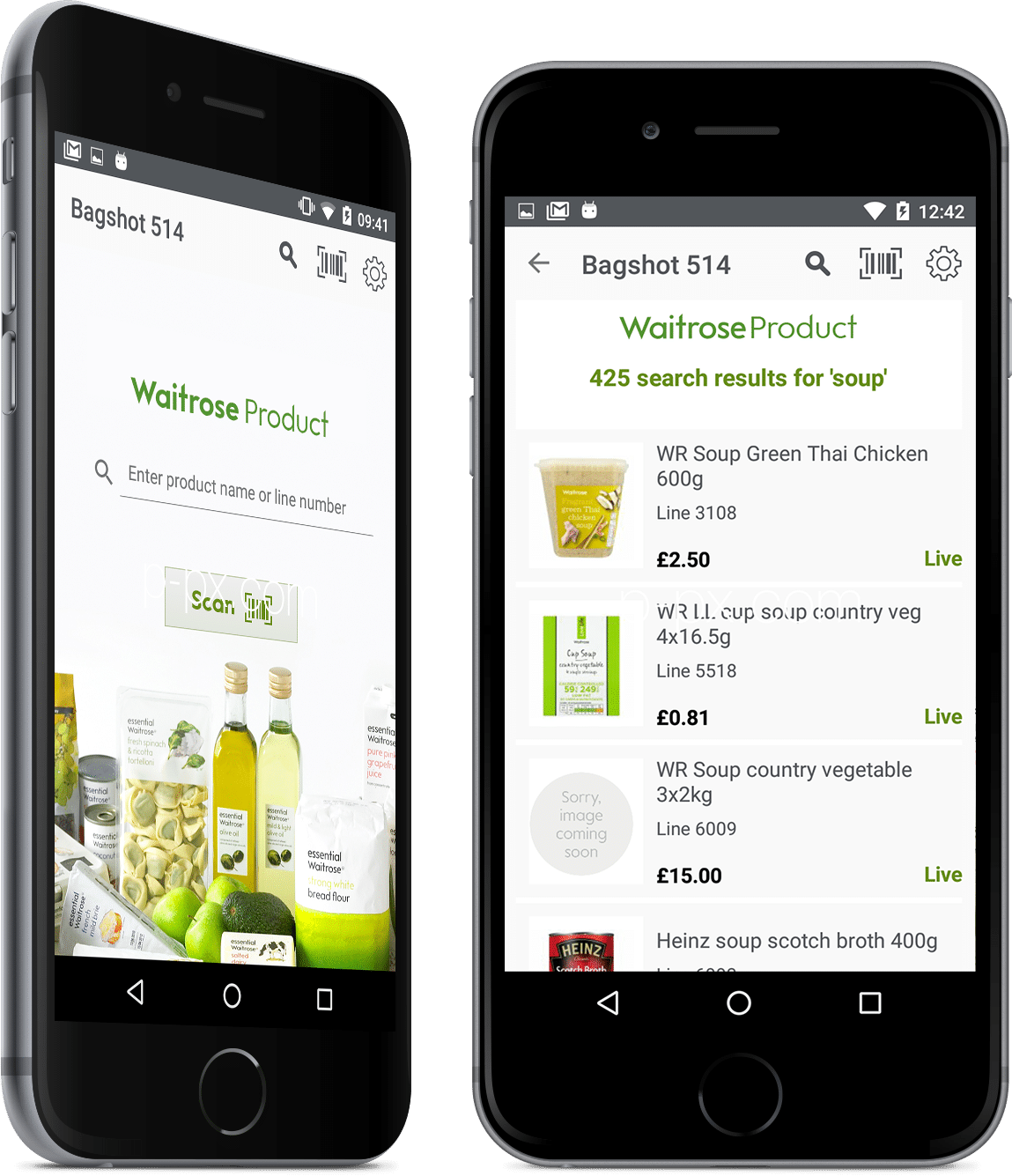 xamarin forms app for waitrose